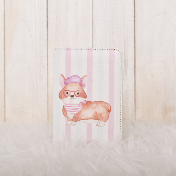 Passport Cover Corgy