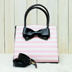 Pink Stripes Lucy Bag