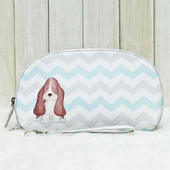 Bassethound Passport Pouch