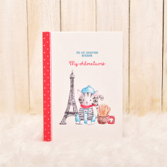 American Shorthair Journal (Eifel Tower)