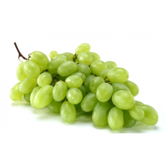 Grapes green.