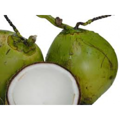 coconut water with fresh nut meat