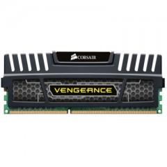 Corsair Vengeance Memory Kit 8GB Single Channel DDR3 PC RAM (CMZ8GX3M1A1600C10)