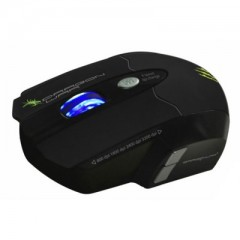 Dragonwar Leviathan ELE-G1 - Ergonomic Gaming Laser Mouse (Black)
