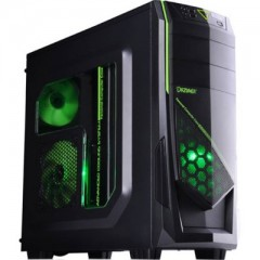 Dazumba D-Vito 685 Mid Tower PC Gaming Case - With PSU 450W (Black)