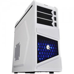 Dazumba D-Vito 781 Mid Tower PC Gaming Case - No PSU (White)