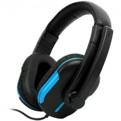 Keenion KDM-1009 Blue - Over the Head Wired Headphone