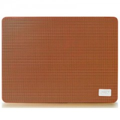 DEEPCOOL N1 Slim Metal Mesh - 15.7 inch Notebook Cooler Pad (Orange)