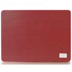 DEEPCOOL N1 Slim Metal Mesh - 15.7 inch Notebook Cooler Pad (Red)