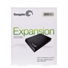 SEAGATE Expansion 500GB - USB 3.0 Portable External Hard Drive