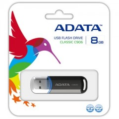 ADATA Classic Series C906 8GB - USB 2.0 Pen Cap Flash Drive