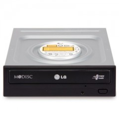 LG GH24NS95 M-Disc 24X Black SATA DVD-RW - Internal Optical Drive (Box)