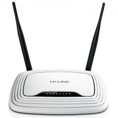 TP-LINK TL-WR841N Wireless-N AP N300 2 Fixed Antennas - Wi-Fi Router