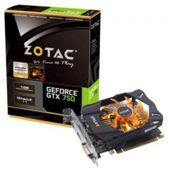 ZOTAC NVidia GeForce GTX 750 1GB DDR5 PCI-E VGA Card