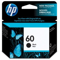 HP 60 Black CC640WN - Original Printer Ink Cartridge