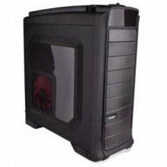 Dazumba D-Vito 960 Full Tower PC Gaming Case - No PSU (Black)