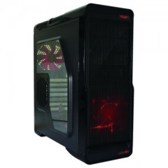 Armaggeddon Hectotron T3X Mid Tower PC Gaming Case - No PSU (Black)