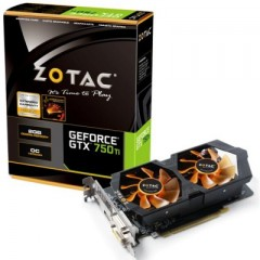 ZOTAC NVidia GeForce GTX 750Ti OC 2GB DDR5 PCI-E VGA Card