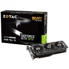 ZOTAC NVidia GeForce GTX 970 AMP! Omega Core Edition 4GB DDR5 PCI-E VGA Card