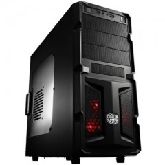 Cooler Master K350 Mid Tower PC Gaming Case - No PSU