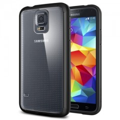 Spigen Ultra Hybrid Black - Samsung Galaxy S5 Case