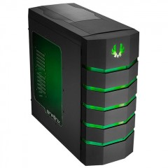 BitFenix Colossus Window Full Tower PC Gaming Case - No PSU (Black - Green)