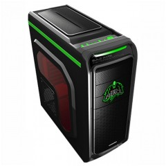 Simbadda SIM Cool SMC-01 Mid Tower PC Gaming Case - 480W PSU (Black)