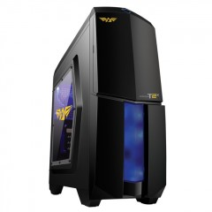 Armaggeddon Microtron T2X Mid Tower PC Gaming Case - No PSU (Black)