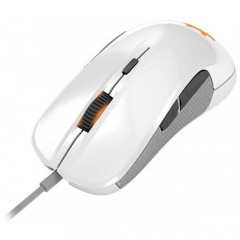 SteelSeries Rival 300 - Professional Gaming Optical Mouse (White)