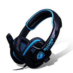 Sades SA-708 - 2.1 Channel Professional Gaming Headset