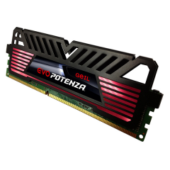 Geil EVO POTENZA Memory Kit 8GB Dual Channel DDR4 PC RAM (GPR48GB2400C16DC)