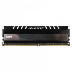 Avexir Core White LED Memory 4GB Single Channel DDR4 PC RAM (AVD4UZ124001604G-1COW)