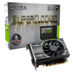 EVGA NVidia GeForce GTX 1050 SC Gaming 2GB DDR5 PCI-E VGA Card