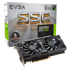 EVGA NVidia GeForce GTX 1050 SSC Gaming 2GB DDR5 PCI-E VGA Card