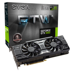EVGA NVidia GeForce GTX 1060 FTW+ Gaming 6GB DDR5 PCI-E VGA Card