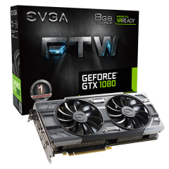 EVGA NVidia GeForce GTX 1080 FTW Gaming 8GB DDR5X PCI-E VGA Card