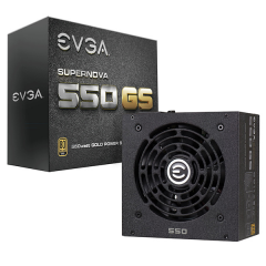 EVGA 550W 80+Gold - Full Modular Power Supply Unit ATX