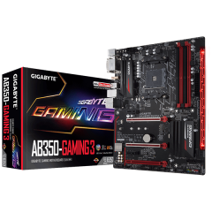 Gigabyte ATX Motherboard GA-AB350-Gaming 3 AM4 (DDR4, SATA3, USB3)