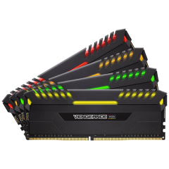 Corsair Vengeance RGB Memory Kit 32GB Dual Channel DDR4 PC RAM (CMR32GX4M4C3000C15)