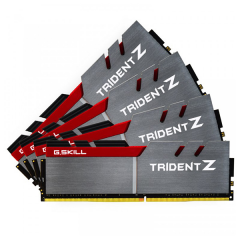 Gskill Trident-Z Memory Kit 64GB Quad Channel DDR4 PC RAM (F4-3466C16D-64GTZ)
