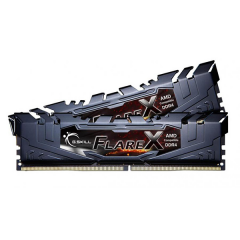 Gskill Flare-X Memory Kit 16GB Dual Channel DDR4 PC RAM (F4-2800C15D-16GVRB)