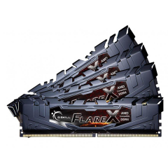 Gskill Flare-X Memory Kit 64GB Quad Channel DDR4 PC RAM (F4-3200C14Q-64GVK)