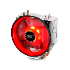 DEEPCOOL GAMMAXX 300R -  CPU Cooler with 12cm Red LED Fan