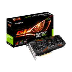 Gigabyte NVidia GeForce GTX 1070 G1 Gaming 8GB DDR5 PCI-E VGA Card