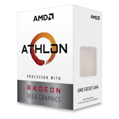 AMD Athlon 200GE AM4 Dual Core Processor with Radeon™ Vega 3 Graphics (3.2 GHz Cache 4M)