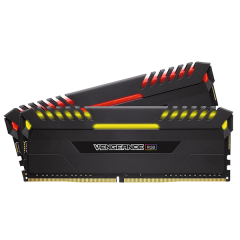 Corsair Vengeance RGB Memory Kit 16GB Dual Channel DDR4 PC RAM (CMR16GX4M2C3000C15)
