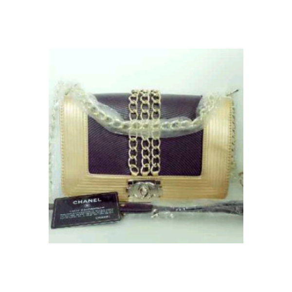 CHANEL Princess Syahrini super HK Purple-gold