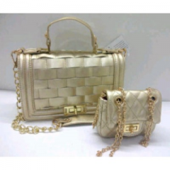 CHANEL pesta Mom & Kid baby gold