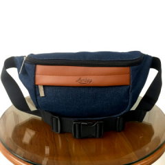 Lomberg Navy Hip Bag