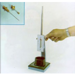 VICAT NEEDLE APPARATUS TEST